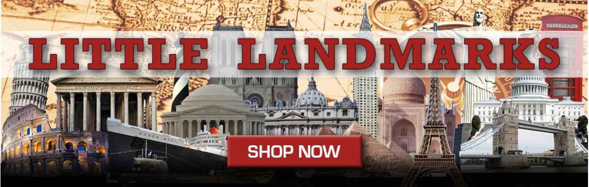 Laser Cut Acrylic landmarks